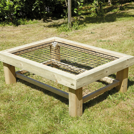 Outdoor Weaving Table  large