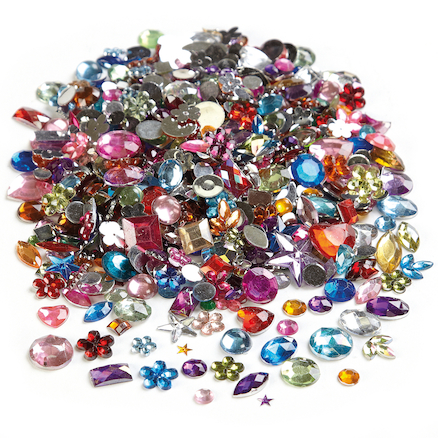 Colourful Gem Stone Collection 2000pcs  large