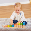 Wooden Rope Abacus Counting Toy  small