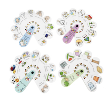 Early Years Fans Set 4pk  medium
