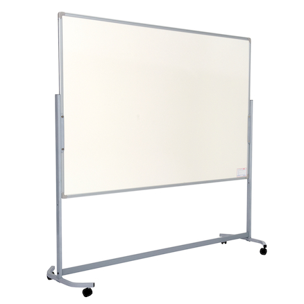 Mobile Height Adjustable Whiteboard  large