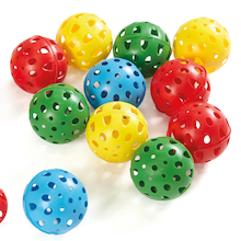 Air Flow Perforated Balls 12pk  medium