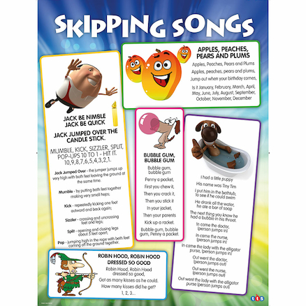 Skipping Songs Playground Signboard  large