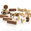 Natural Wooden Small World Farmers Field Set  small