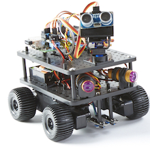 Initio Raspberry Pi Controlled Robot  medium