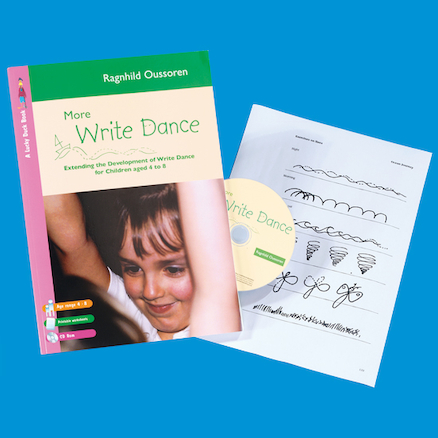 More Write Dance Book and CD Rom  large