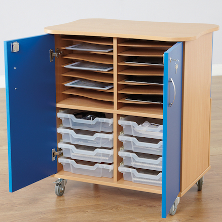 16 Way Charge and Sync Tablet Storage Cupboard  large