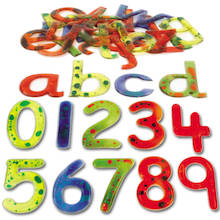 Squidgy Sparkle Letters and Numbers  medium