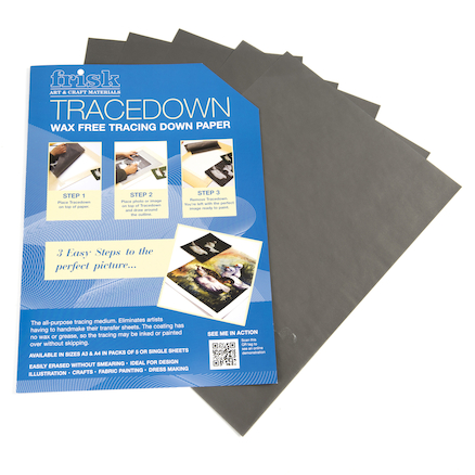 Tracedown Transfer Paper A4 5pk  large