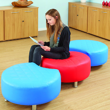 Breakout Area Seating Stools 3pk  medium