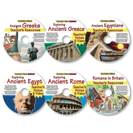 Ancient History CD Collection 6pk  large