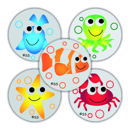 EYFS Under The Sea Reward Stickers 250pk  large