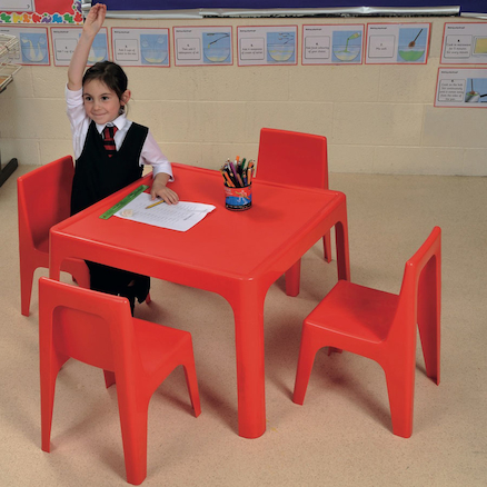 Polypropylene Table and Chairs Set  large