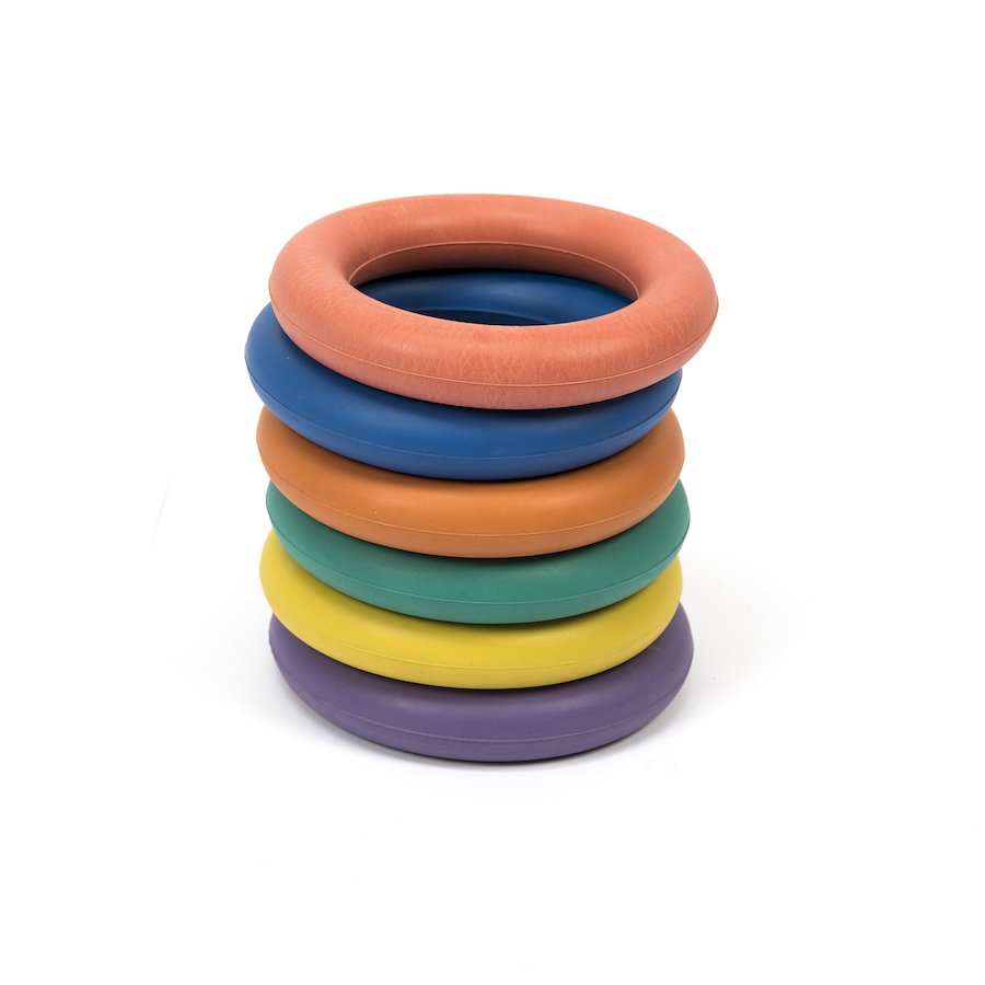 Buy Rubber Quoits 6pk | Free Delivery Available |TTS