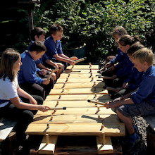 Giant Outdoor Xylophone  medium