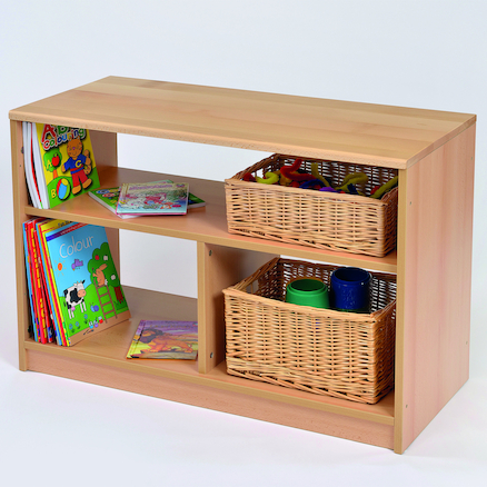 Room Scene Open Bookcase  large