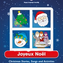 Joyeux Noel French Activity Book  medium