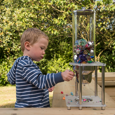 Outdoor Messy Play Materials Dispenser  large
