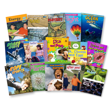 Accelerated Reader Non Fiction Books 15pk  large