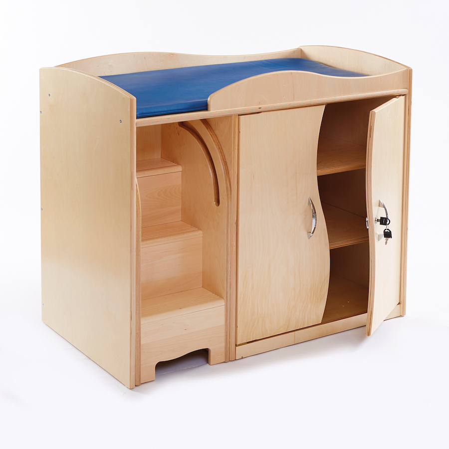 Buy Walk Up Baby Changing Table With Steps Tts