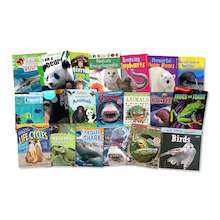 Animal Life Books 20pk  medium