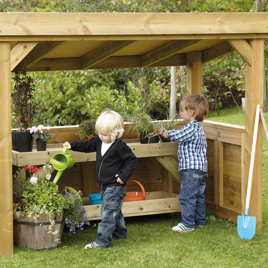 Buy Outdoor Natural Roof Wooden Role Play Room Tts