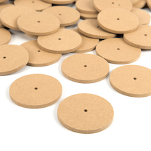 Wooden Wheels 100pk  medium