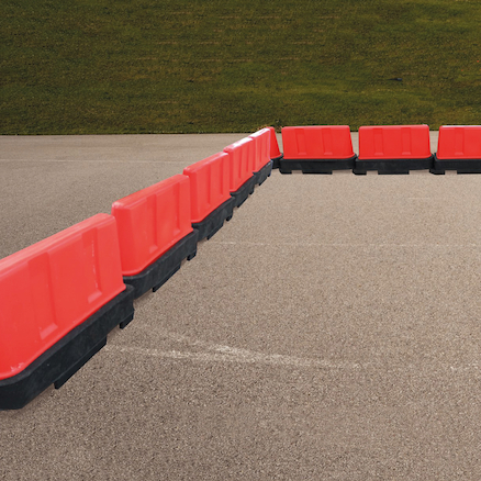Football Zone Playground Barriers  large