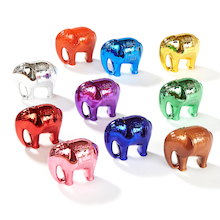Metallic Elephant Number and Counting Set 1-10  medium