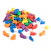 Colourful Plastic Pet Counters 72pcs  small