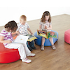 Wipe Clean Vinyl Snuggle Seats 5pk  small