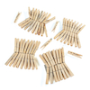 Wooden Clothes Pegs 72pk  small