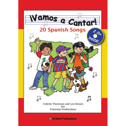 Vamos a Cantar! Spanish Singing Book and CD  large