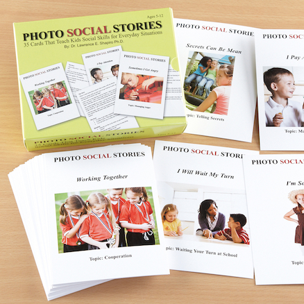Interactive Photo Activity Story Cards 35pk  large