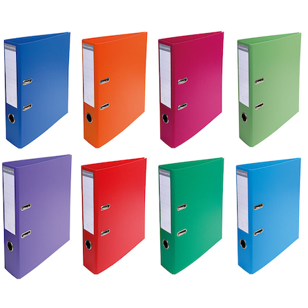 Assorted A4 Lever Arch Folders  large