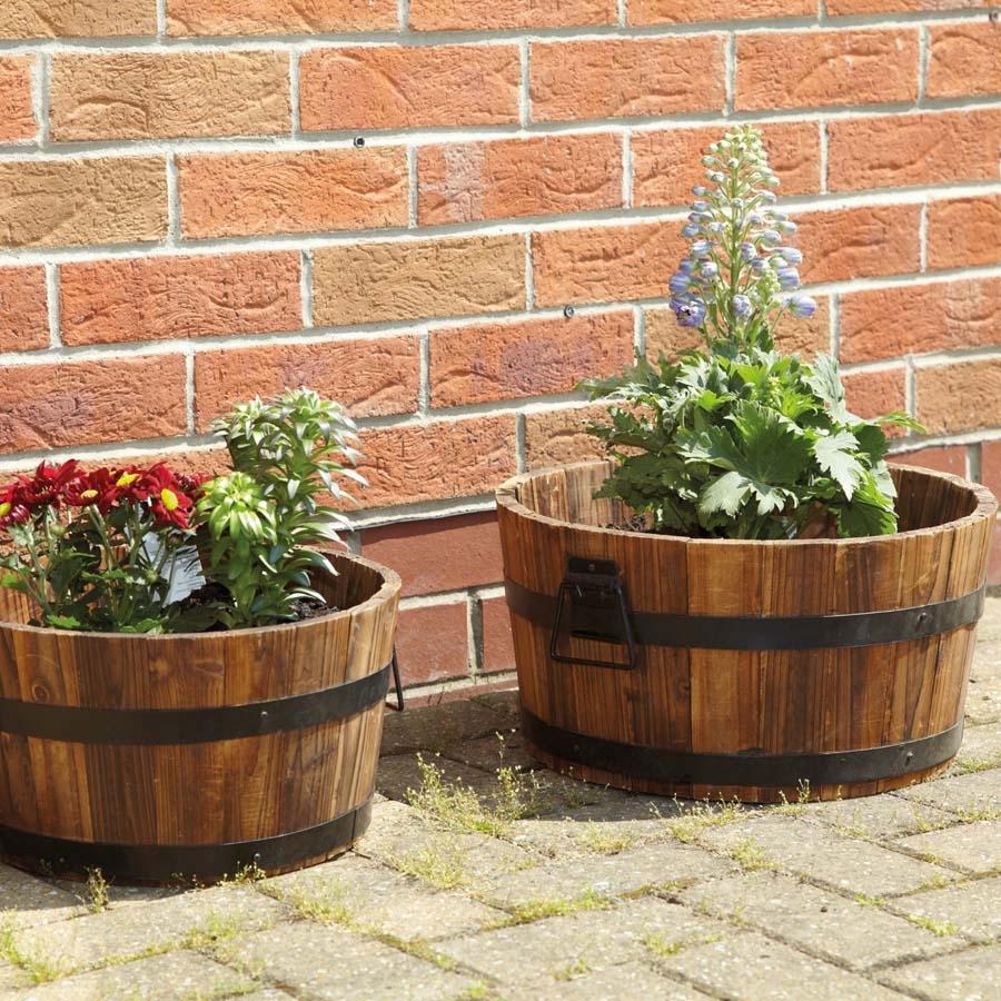 Buy Wooden Planters Tts
