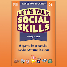 Lets Talk Social Skills Activity Cards 80pk  medium