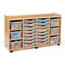 Tray Storage Unit 6 Deep Trays / 16 Shallow Trays  medium