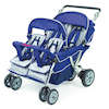 Folding Commercial 4/6 Seater Stroller  small