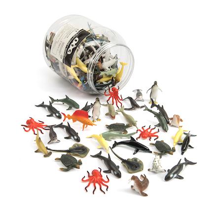Buy Tub Of Small World Sea Creatures 144pcs Tts