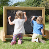 Outdoor Wheelie Wooden Chalkboard  small