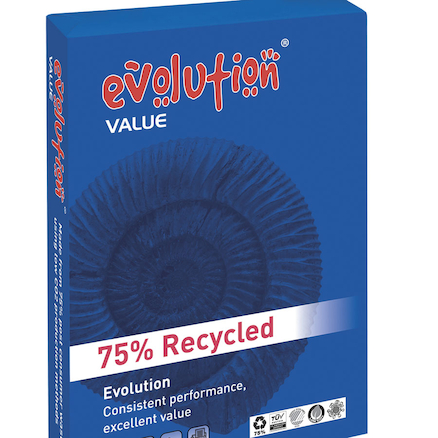 Evolution VALUE 75% Recycled Copier Paper 80gsm  large