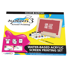 SYSTEM 3 Screen Printing Set  medium