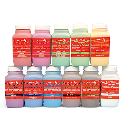 Powder Paint Assorted 500g 12pk  large