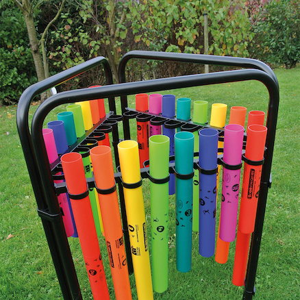 Triple Boomwhacker Music Frame  large