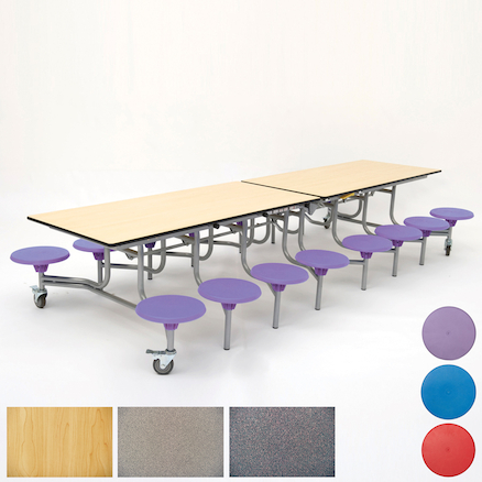 Rectangular 16 Seat Folding Table  large