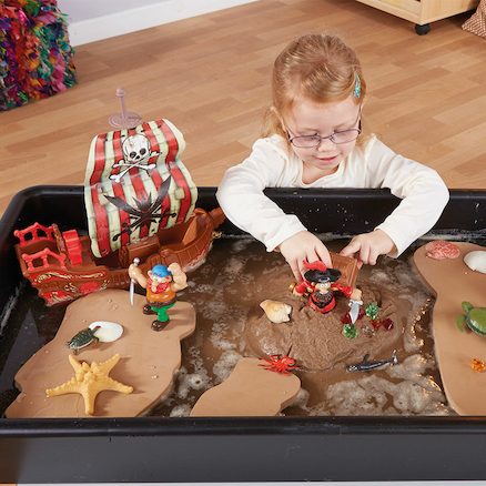 Foam Floating Islands for Water Tables  large