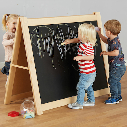 Mini Mark Makers Chalkboard Floor Easel  large