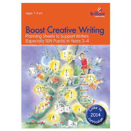 Boost Creative Writing Planning Sheets Workbook  large
