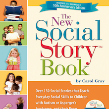 The New Social Story Activity Book and CD  medium